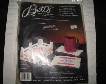 Betts Plastic Canvas Needlework Kit 671 Desert Breeze