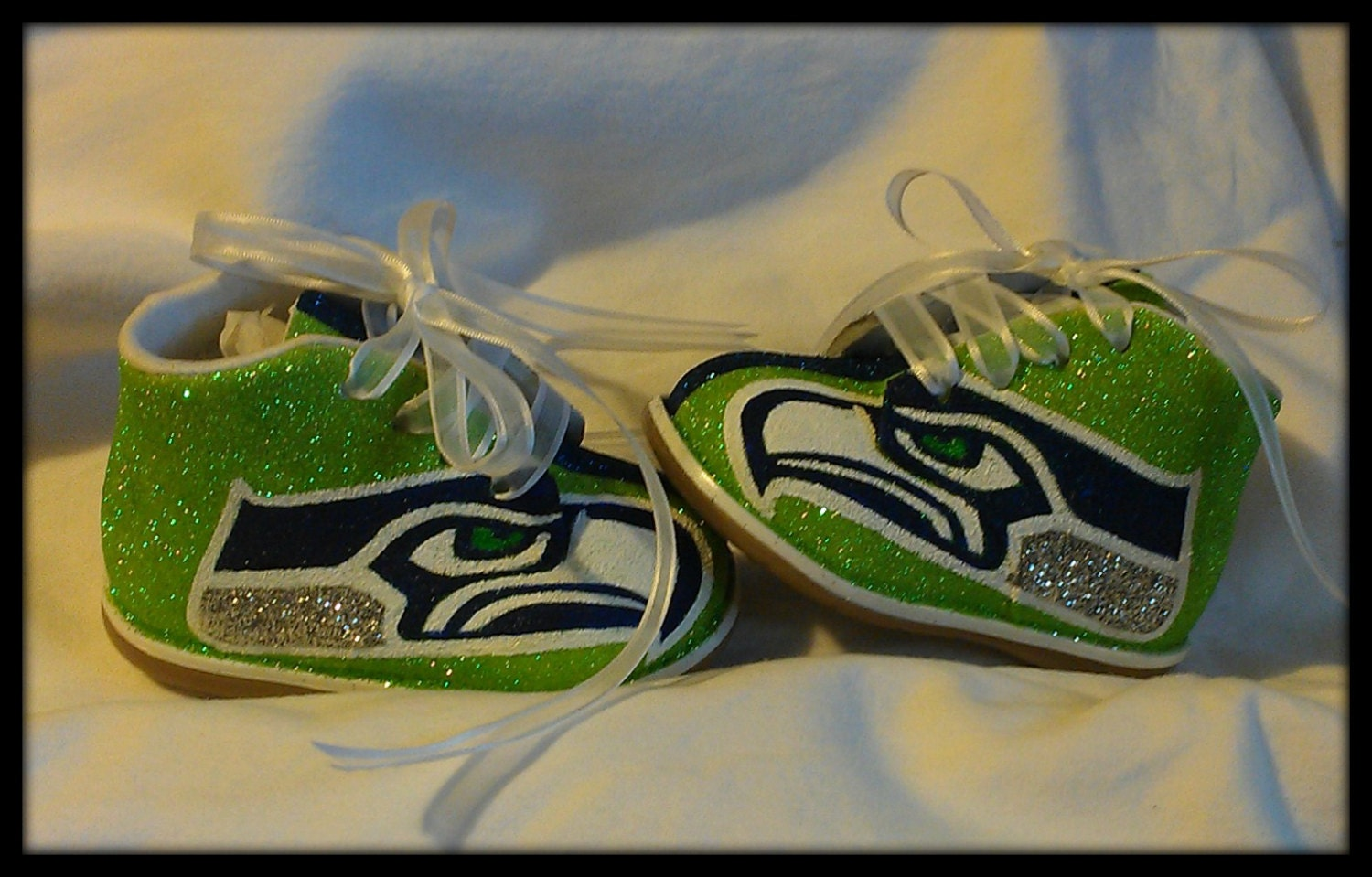 Custom Painted Baby Shoes