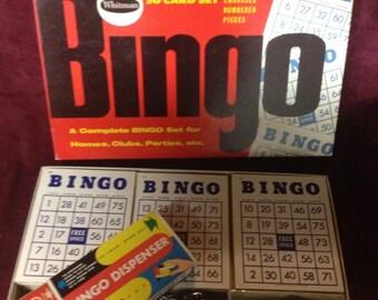 1959 Bingo Game - Never Used