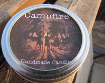 Handmade Campfire Candle