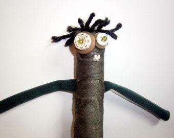 Parker - ooak Skaerrenvolk cloth art doll