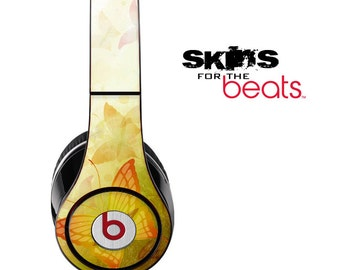 Monarch Butterfly Skin for the Beats by Dre Studio, Solo, MIXR, Pro or Wireless Version Headphones