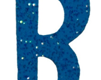 Turquoise Blue Letter B