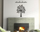 Tree Vinyl Wall Decal Size SMALL - Tree Wall Decal, Tree Art, Nursery Tree, Child Decal, Tree Wall Art, Child Tree, Vinyl Tree