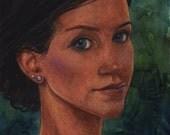 Woman's Face Portrait...