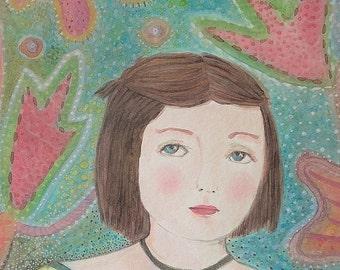 Original Watercolour Painting - Memoria