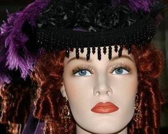 Victorian Hat Riding Hat Sidesaddle SASS Hat - Spirit of Denver II - Womens Western Hat