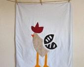 Fancy Rooster Blanket