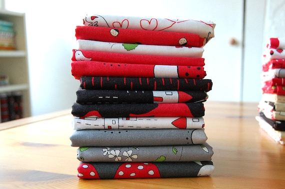 The Red Thread - FABRIC BUNDLE 1