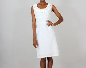 Ruffle Bustle Dress - size small - on sale