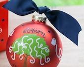 Toomers Corner Auburn Christmas Ornament