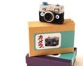 Mini Camera Brooch B