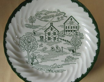 Countryside plate Amish spring L 53