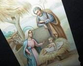 Vintage Gloria in Excelsis Card