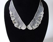 Ivory Lace Collar Bib Necklace with FREE HOLIDAY WRAP