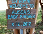 Baby Shower Sign Its a Boy Its A Girl Decorations Baby Photos Prop Maternity Sign Baby Sign Wooden Signs Hand Painted Sign