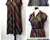 Vintage 70s Dress -  Marcia Brady Diva