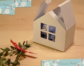 House Gift Box - SVG PDF DXF Pattern