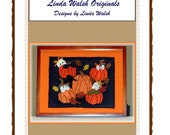 Babies In the Pumpkin Patch Penny Rug Picture E-Pattern