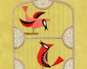 Me For You And You For Me Bird Print 8.5 x 11