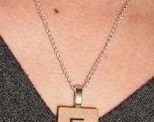 Scrabble Tile Necklaces E and L for Terri