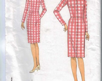 Misses Sewing Pattern Vogue 1004 Misses Fitting Shell Toile Fit Pattern Dress Size 6 8 10 124 16 18 20 UNCUT