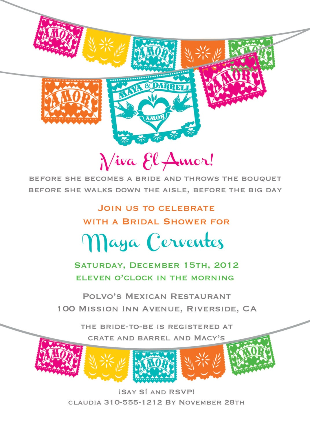 Mexican Party Invitations is adorable invitations design