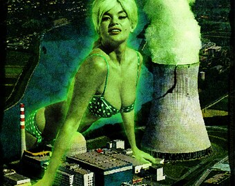 Cramps Jayne Mansfield Nuclear Project 8x10 print