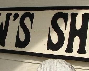 Pawpaw's Shop sign