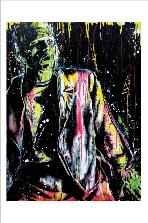 Frankenstein's Monster - 12 x 18 High Quality Art Print