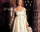 Simplicity The Ever After Dress Pattern Renaissance Wedding Gown Costume Pattern Misses Size 10 12 14 UNCUT