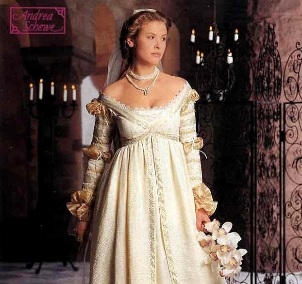 Renaissance Bridal Gown Sewing Pattern Princess Dress: Simplicity The Ever After Dress Pattern Renaissance Wedding