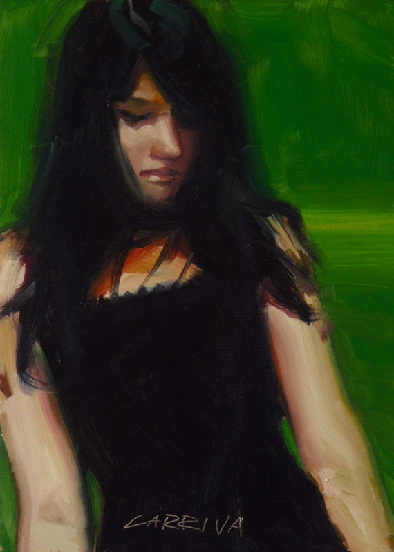 Green - Original Oil Painting