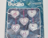 Bucilla Christmas Heirloom Christmas Love Candlewicking Ornament Kit 82134