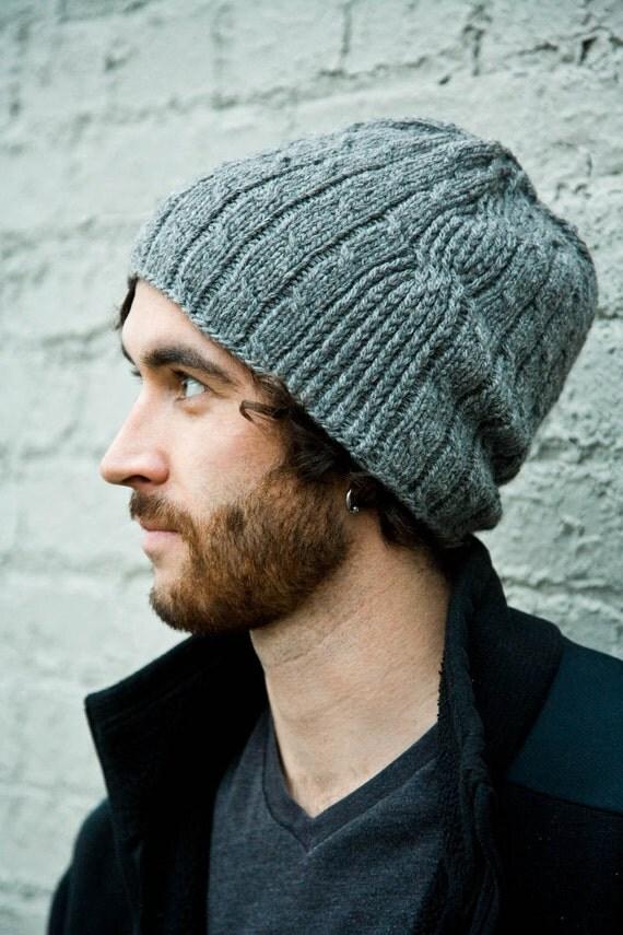 Mens Hat Knitting Pattern Bartek Pattern PDF by Woolibear