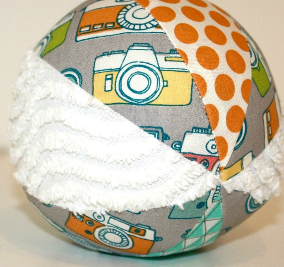 Organic Toy Ball with a Rattle - Cameras - Snap Happy