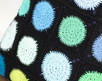 Crochet Cushion - Dotty