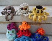 Crochet Pattern: An Octet of Octopodes
