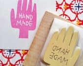 handmade rubber stamp. hand carved rubber  stamp. craft stamps for makers artists. gift wrapping. card making. holiday crafts. mounted