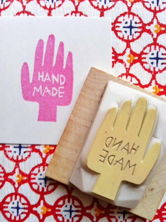 Handmade rubber stamp hand carved rubber stamp craft stamps for Custom craft rubber stamps