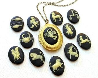 Zodiac jewelry personalized horoscope necklace horoscope jewelry zodiac jewelry libra necklace saggitarius pisces