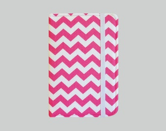 Kindle Cover Hardcover, Kindle Case, eReader, Kobo, Kindle Voyage, Kindle Fire HD 6 7, Kindle Paperwhite, Nook GlowLight Chevron Pink