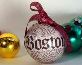 The Boston Globe Ornament