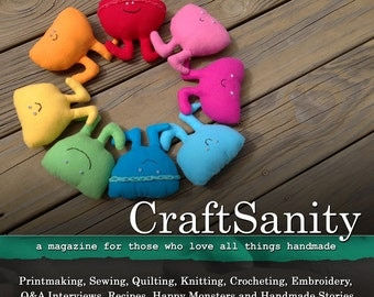 SALE! CraftSanity Magazine Issue 9 Print Edition