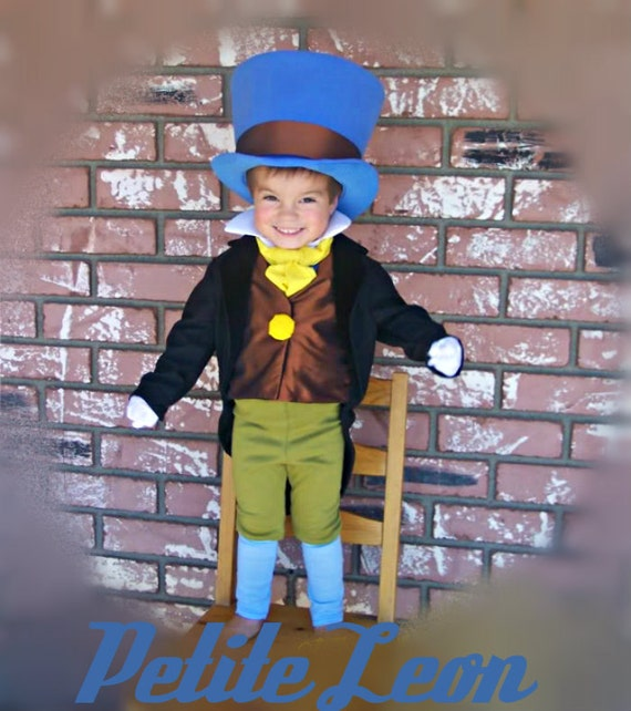 Jiminy Cricket Costume from Pinocchio with Wellington Style
