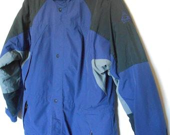 FREE SHIPPING! Vintage 1980s Mens Gerry Winter Waterproof Hooded  Coat      Size Medium