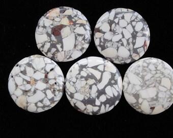 Magnet Set (5) Polished Granite