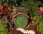 Green Hobbit/Fairy Door