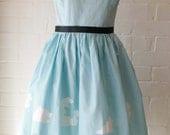 1950s House Print Sun Dress
