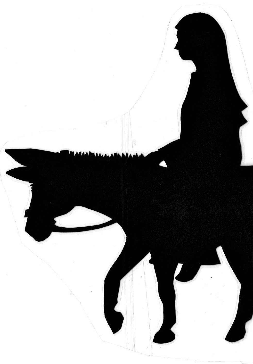 Christmas story shadow puppets pattern download for Free shadow puppet templates